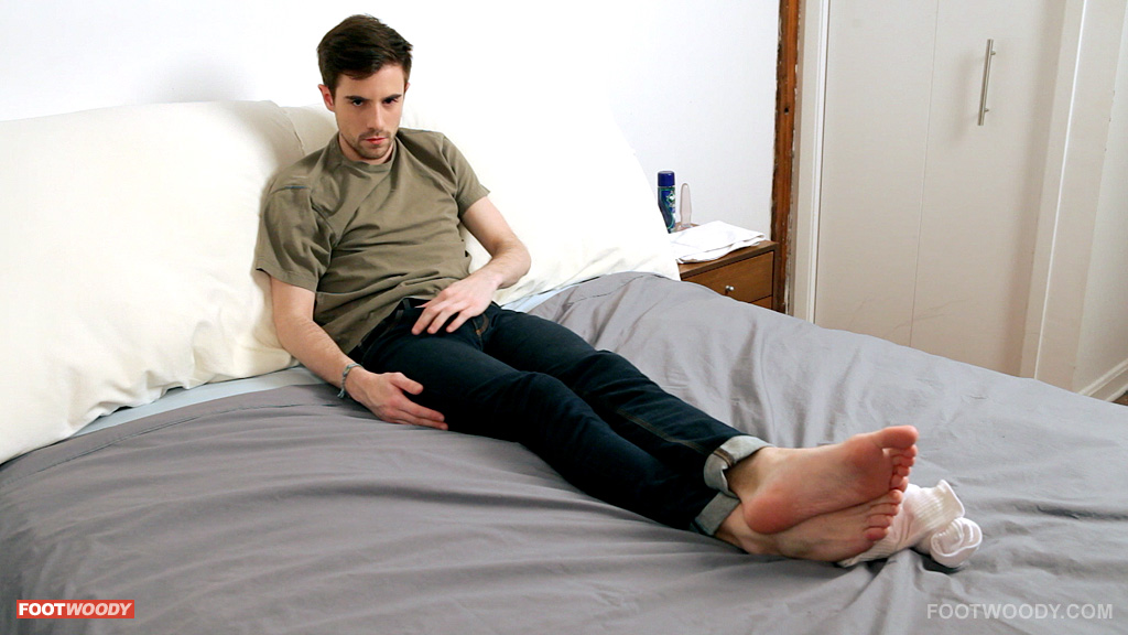 cock play with feet