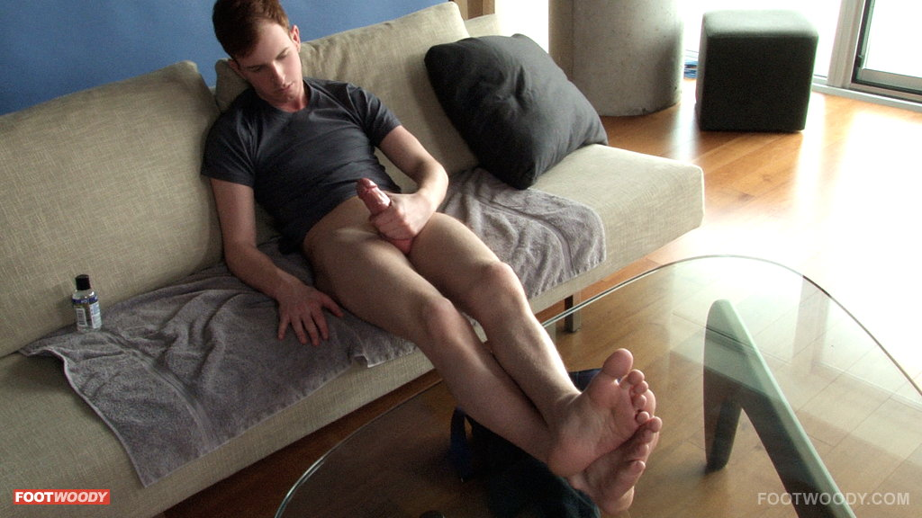 Wide male foot fetish from https: